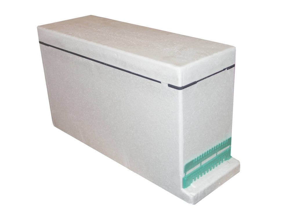 3 Frame Langstroth Polystyrene Nucleus Hive