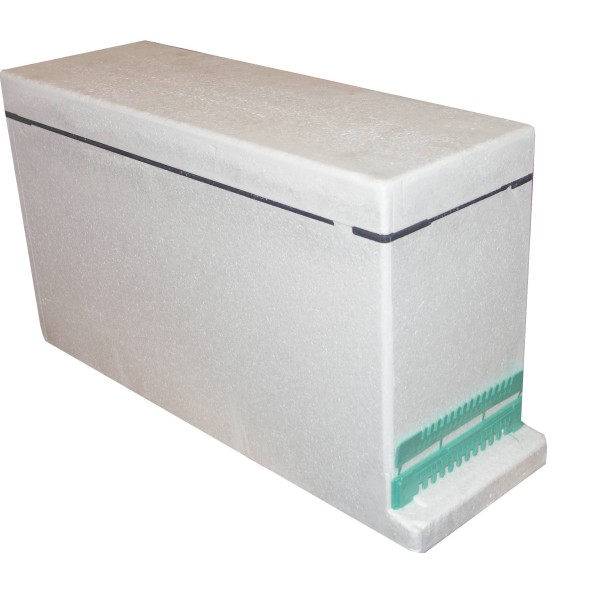 3 Frame Langstroth Polystyrene Nucleus Hive