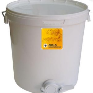 28kg Honey Settling Tank with Valve + Lid