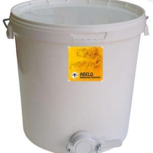 28kg Honey Settling Tank with Valve + Lid