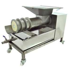 Cappings Screw Press HONEY/WAX SEPARATOR 200kg/h