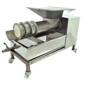 Cappings Screw Press HONEY/WAX SEPARATOR 500kg/h