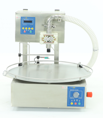 Bottling Machine with mini turn table