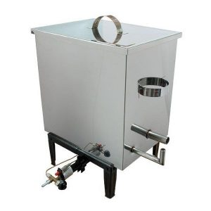 Gas Steam Wax Melter Stainless Steel - Small