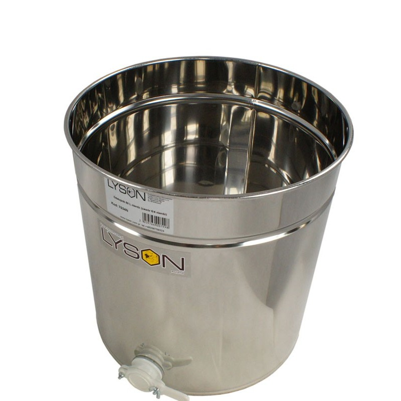 Honey Settling Tank 40 kg - MINIMA LINE