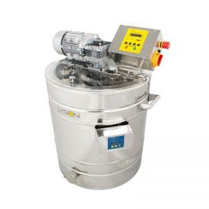 Heated creaming machine 50 L (70 kg),