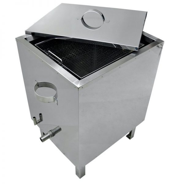 Gas Steam Wax Melter Stainless Steel, Insulated