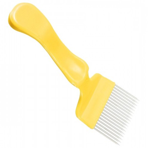 Uncapping fork Plastic Yellow