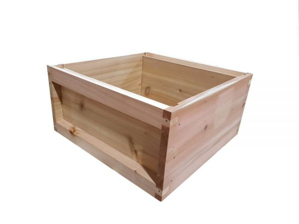 National Brood Box Cedar 2nd ASSEMBLED
