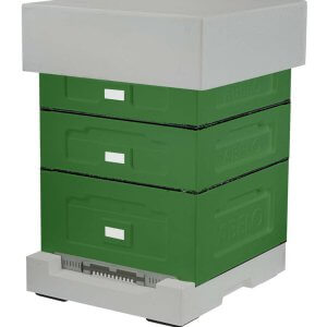 National Poly Hive with Deep Roof (Old design)